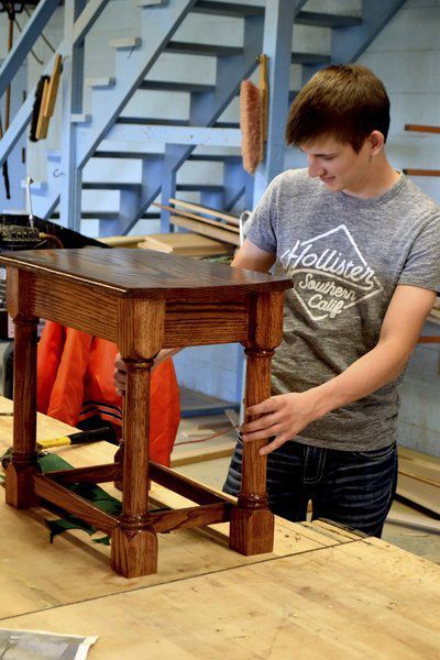 Dieterich class turning out skilled woodworkers