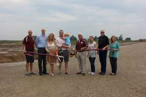 Ribbon Cutting Ceremony for Hartke Subdivision