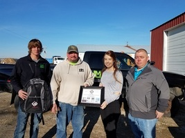 Dieterich High School Student Awarded Hall of FAME Award