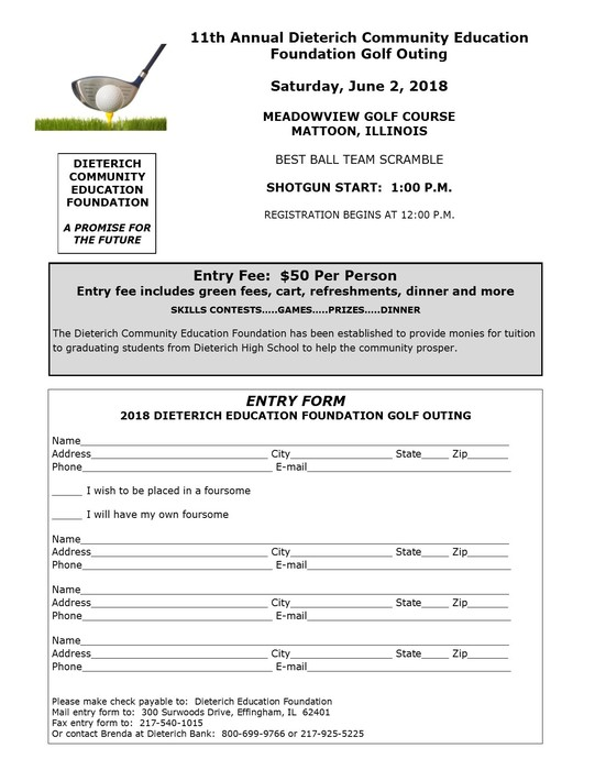 DCEF Golf Outing 2018