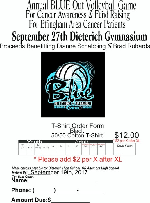 Volley for a cure shirt order form