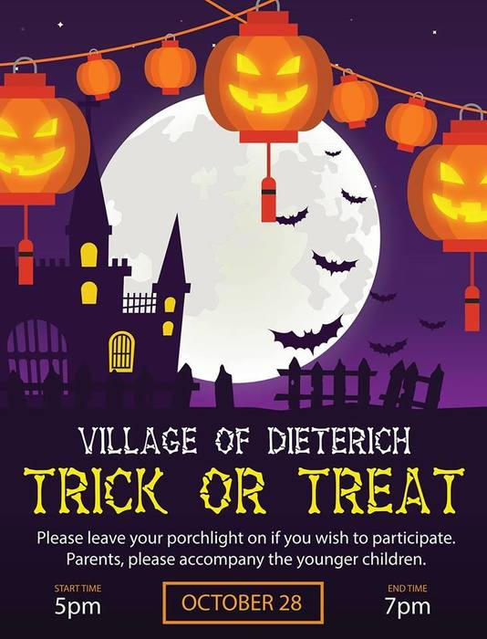 Dieterich Trick or Treat Night