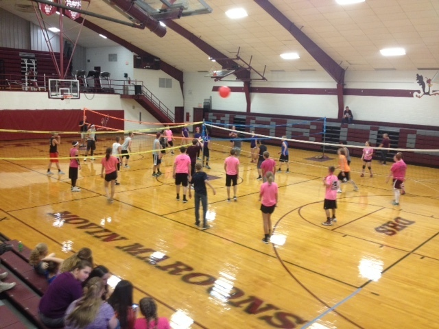4-Way Volleyball